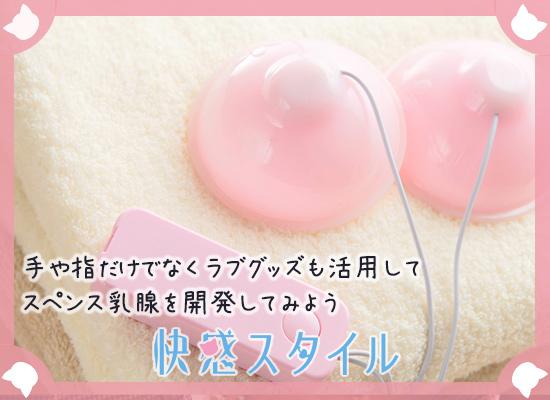 スペンス乳腺開発に使うラブグッズの画像